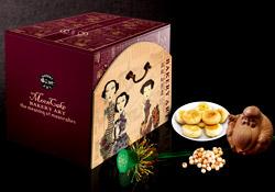 香咪咪月饼盒设计