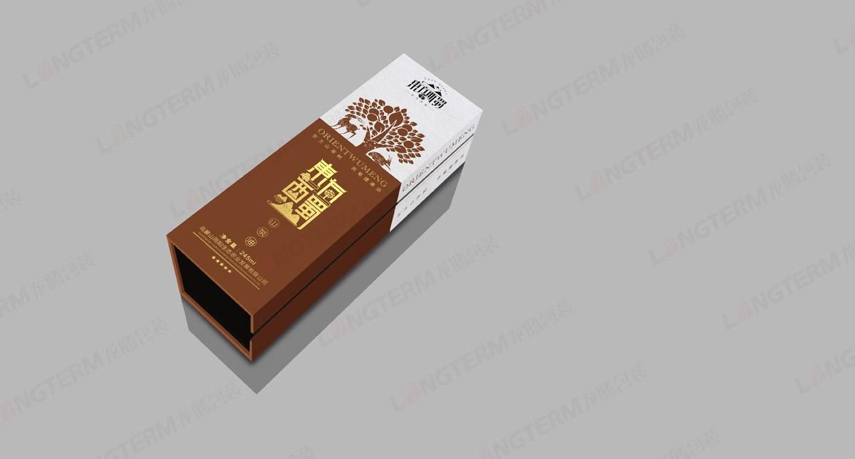 东方西蜀山茶油包装设计_成都茶油包装设计公司