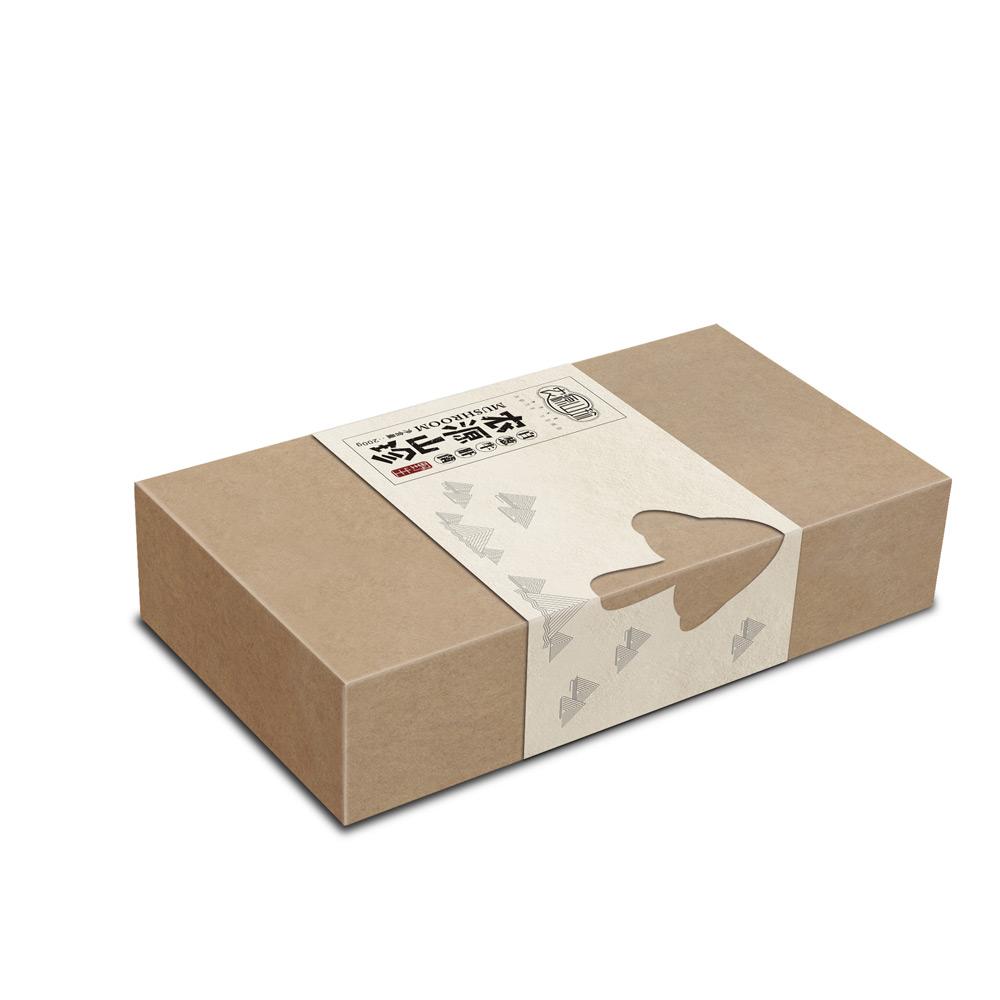 山珍菌类包装设计