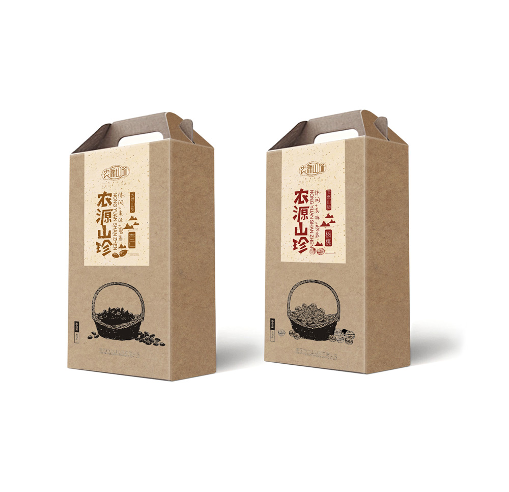大山山珍坚果包装设计_成都坚果包装设计公司_成都干果包装设计公司