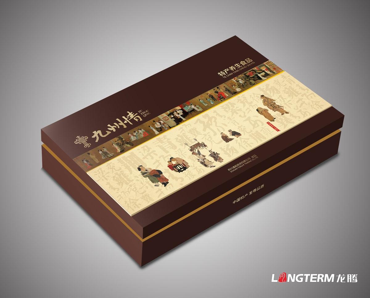 通和商贸九州情特产食品包装设计