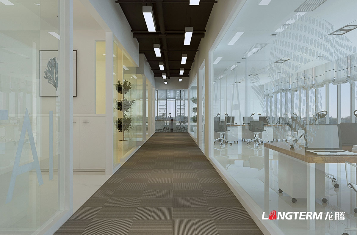 易态科技形象墙文化墙设计|成都科技公司办公室文化墙设计|前台走廊大厅办公氛围营造
