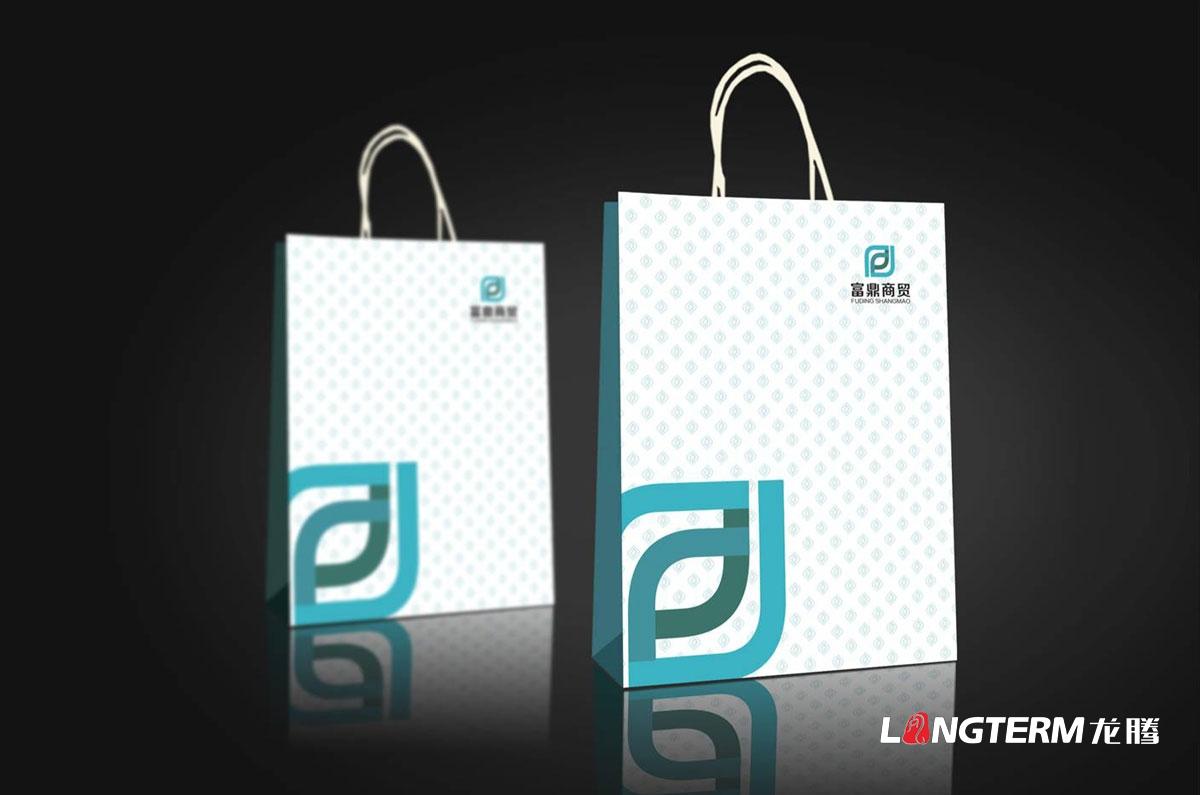 富鼎商贸公司LOGO设计|成都商贸公司商标标志品牌形象VI视觉设计公司