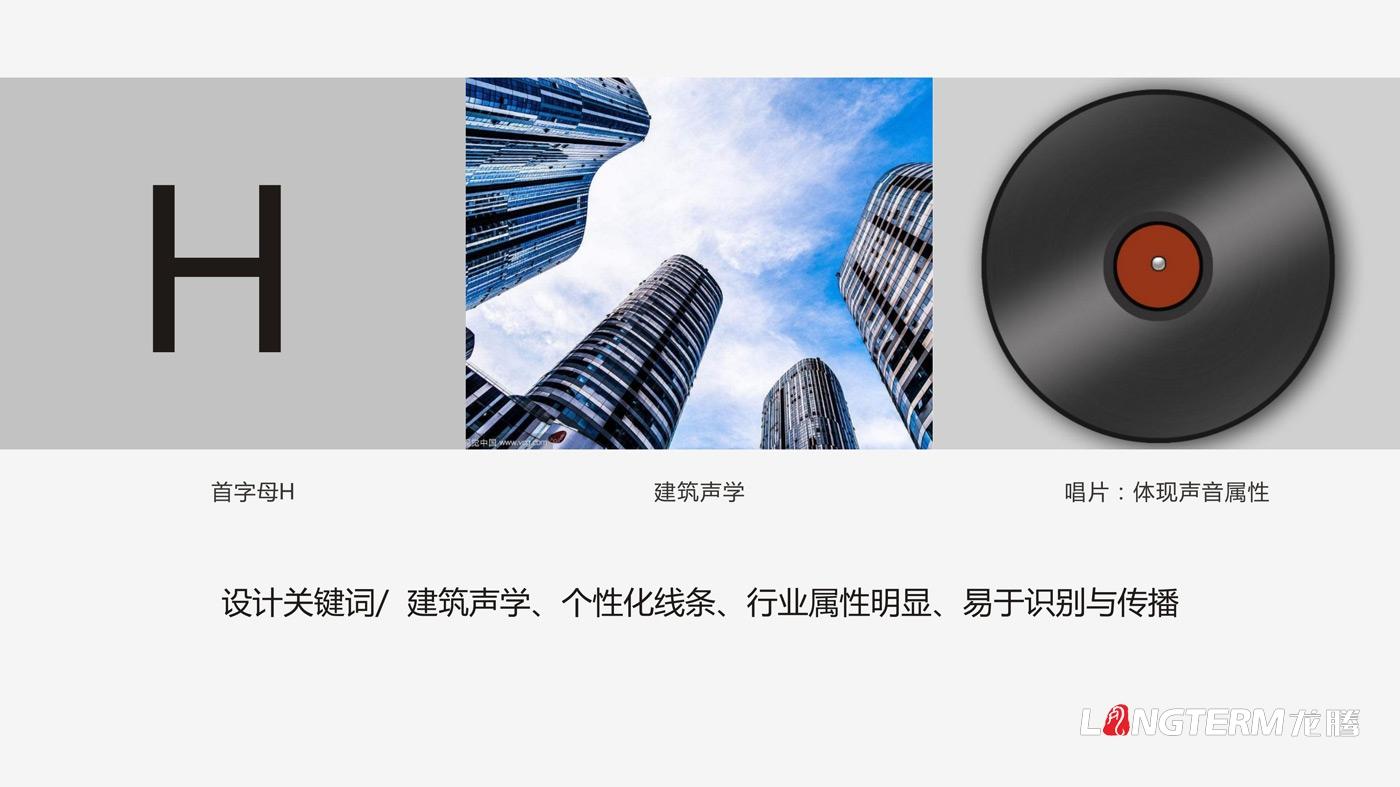 四川海岩声学科技有限公司品牌形象logo设计方案