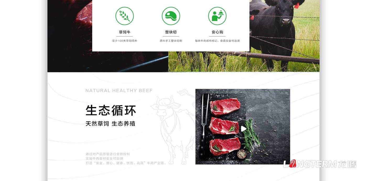 蜀道黑牛网站设计_四川广元蜀道元牛牧业有限公司高端企业品牌官网建设