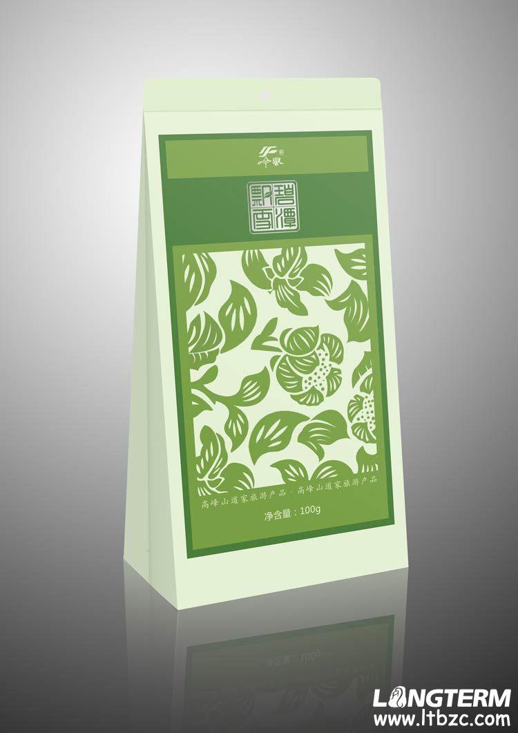 碧潭飘雪茶叶包装设计 - 四川龙腾包装印务有限公司;