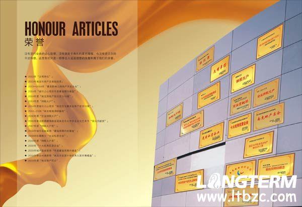 南充市泰合集团宣传画册设计