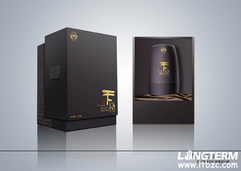 文君茶叶产品包装设计_成都茶叶包装设计公司_茶叶包装设计制作