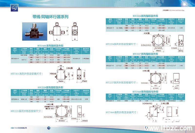 八九九科技微波器件手册设计