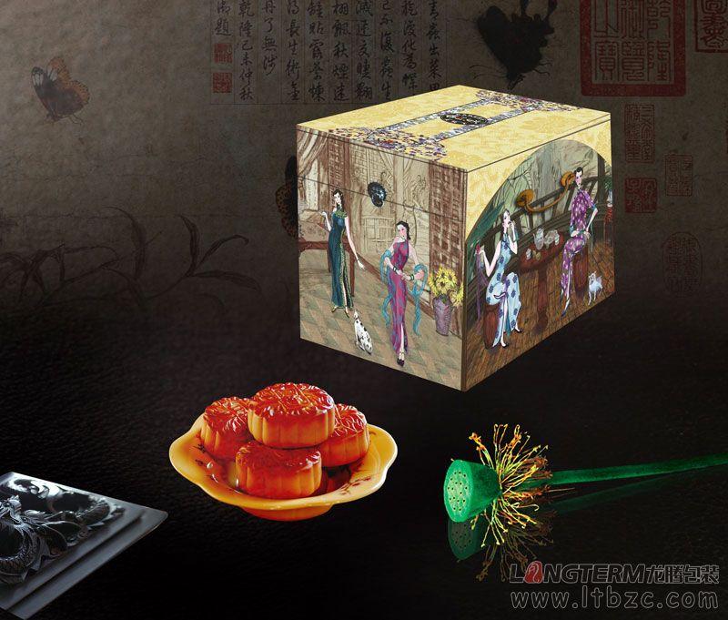 香咪咪月饼包装盒设计