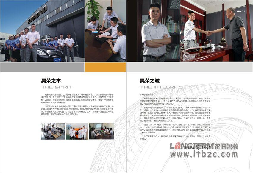 成都昊荣科技有限公司形象画册设计