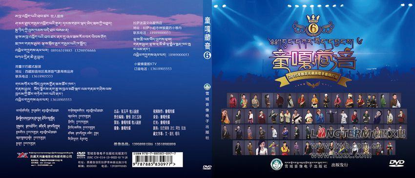 西藏天利童嘎影视传媒有限公司海报与光盘包装设计